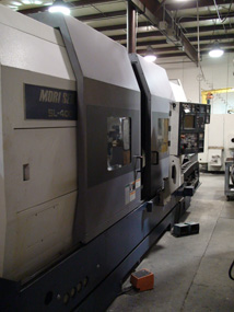 2001 Mori Seiki Slant Bed Turning Center
